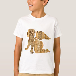 Golden Baby Angel Shiny Elegant Angelic T-Shirt
