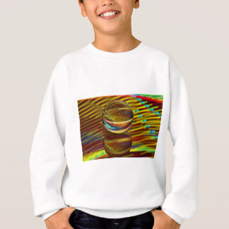 Golden ball sweatshirt