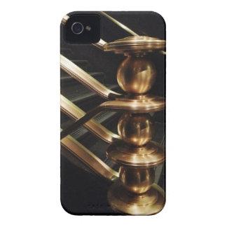 Golden Balustrade Rockefeller Center iPhone4 iPhone 4 Case-Mate Cases