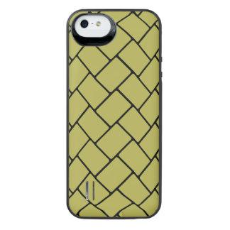 Golden Basket Weave 2 iPhone SE/5/5s Battery Case