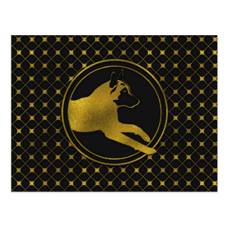 Golden Belgian Malinois - Mechelaar  - Maligator Postcard