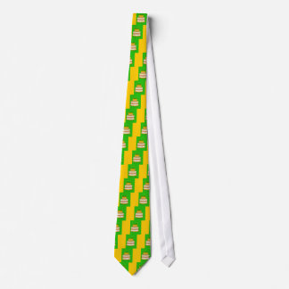 Golden Birthday Cake Tie