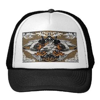 Golden black sample set design cap