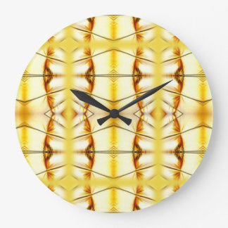 Golden Bling Large Clock
