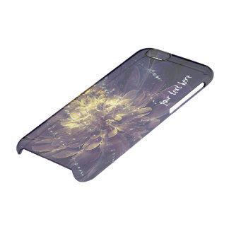 Golden Blue Flower | iPhone Clearly Deflector Case Uncommon Clearly™ Deflector iPhone 6 Case