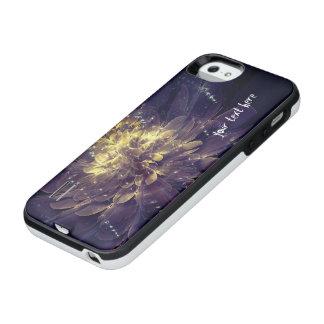 Golden Blue Flower | Power Gallery Battery Cases Uncommon Power Gallery™ iPhone 5 Battery Case