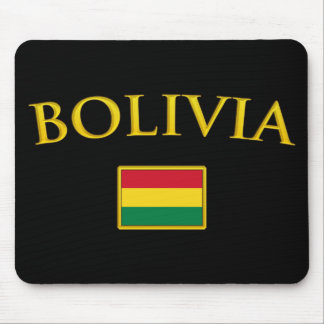 Golden Bolivia Mouse Pad