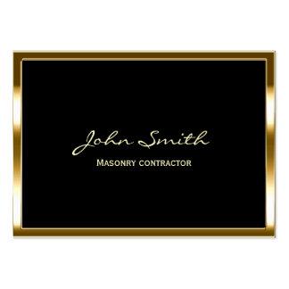 Golden Border Masonry contractor Business Card