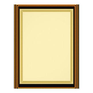 GOLDEN BORDER Plain Sheets 21.5 Cm X 28 Cm Flyer