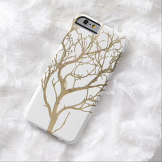 Golden Branches Barely There iPhone 6 Case