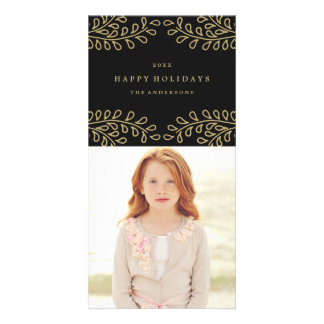 Golden Branches Collection Photo Card