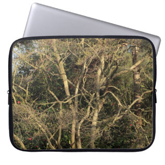 Golden Branches Computer Sleeve