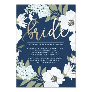 Golden Bride - Bridal Shower Invitation