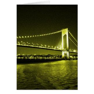 Golden Bridge card