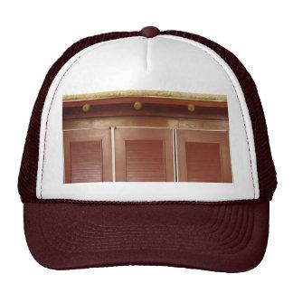 Golden Brown Building Interior Decorations Hats