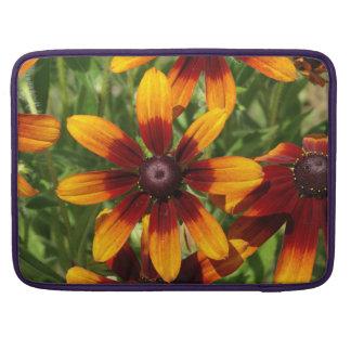 """Golden brown flowers Macbook Pro 15"""" Sleeve For MacBooks"""