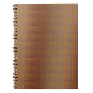 Golden Brown Texture TEMPLATE DIY add TEXT PHOTO Spiral Notebook