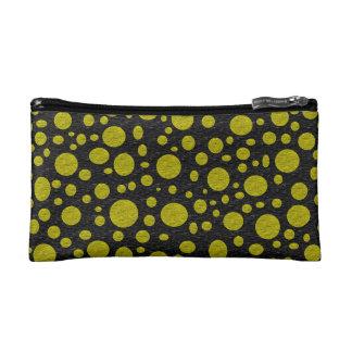 Golden Bubbles Cosmetic Bag