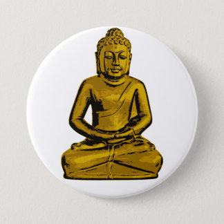 Golden Buddha Button