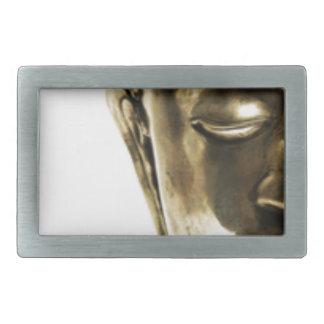 Golden Buddha Head Belt Buckles