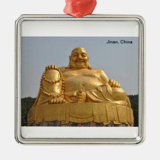 Golden Buddha Ornament