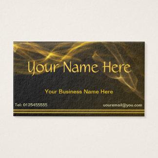 Golden Business Cards