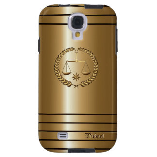 Golden Business & Legal Lawyer Samsung Galaxy S4 C Galaxy S4 Case