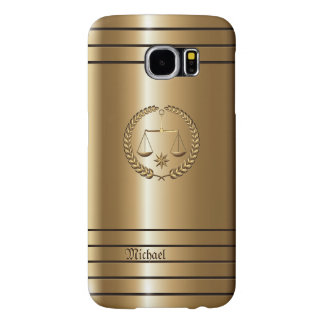 Golden Business & Legal Lawyer Samsung Galaxy S6 Cases