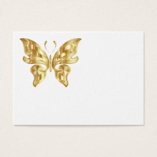 GOLDEN BUTTERFLY BUSINESS CARD