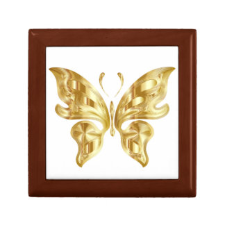 GOLDEN BUTTERFLY GIFT BOX