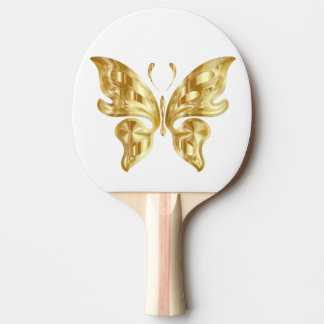 GOLDEN BUTTERFLY PING PONG PADDLE