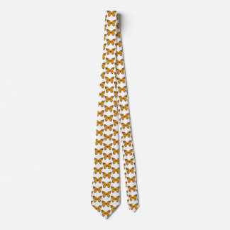 Golden Butterfly Tie