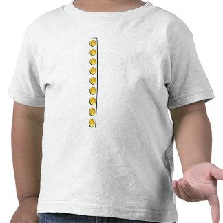 Golden Buttons Tee Shirt