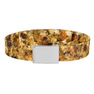 Golden Camouflage Belt