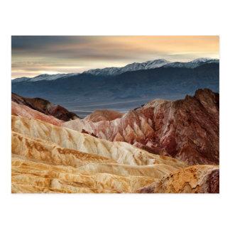 Golden Canyon at Sunset Postcard