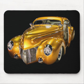 Golden Car Mousepad