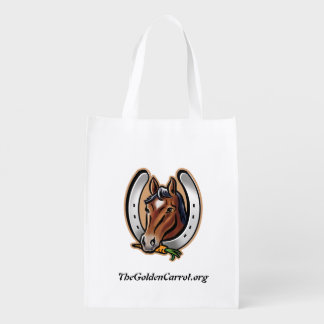Golden Carrot LOGO Shopping Tote