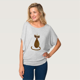 Golden Caticorn Drape Tee