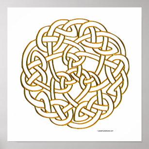 Celtic Fantasy Art Poster