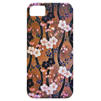 Golden Cherry Blossom Barely There iPhone 5 Case