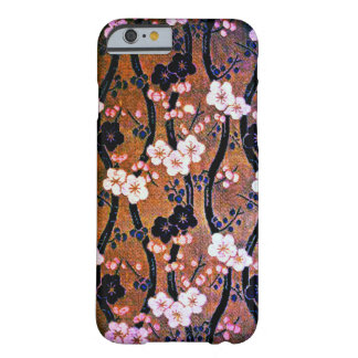 Golden Cherry Blossom Barely There iPhone 6 Case