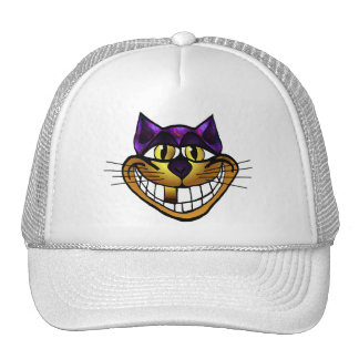 Golden Cheshire Cat Cap