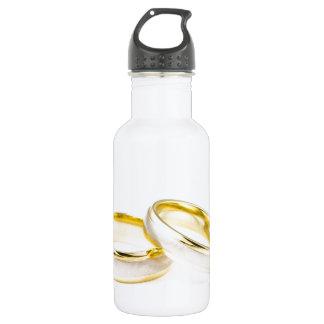 Golden Chic Stylish Bridal Shower 532 Ml Water Bottle