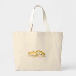 Golden Chic Stylish Bridal Shower Tote Bags