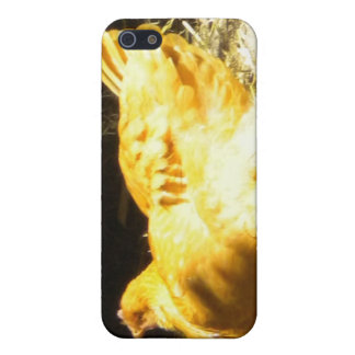Golden Chicken Cover For iPhone 5/5S