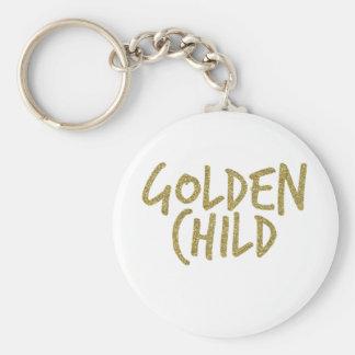 Golden Child Key Ring
