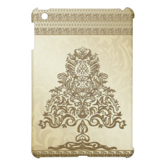 Golden Christmas  Cover For The iPad Mini
