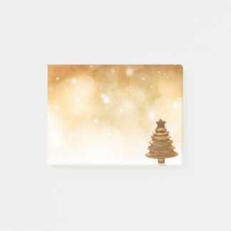 Golden Christmas - Post-it® Notes
