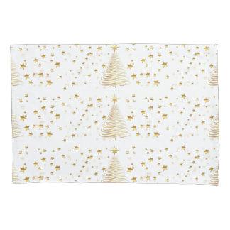 Golden Christmas Set - Single Pillowcase