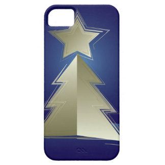 Golden Christmas tree Barely There iPhone 5 Case